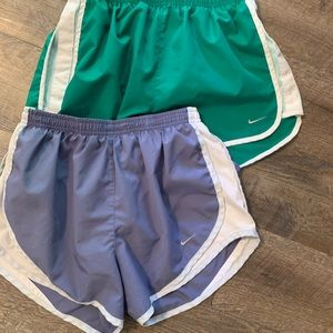 2 Nike shorts small